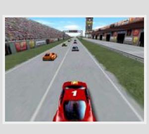 Course d'autos 3d