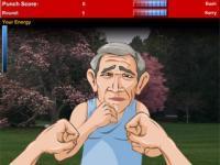 Boxe Bush contre Kerry
