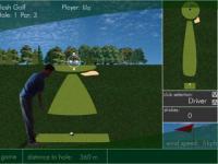Jeu de golf en3d