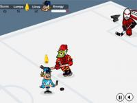 Jeu flash hockey