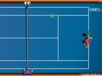 Tennis vue aérienne