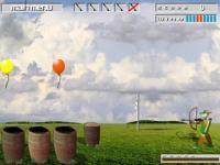Tir à l'arc sur ballons